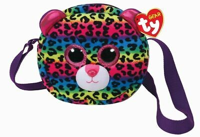 Leopard Fashion Tasche (TY FASHION BEANIE BOOS LEOPARD -DOTTY- SCHULTERTASCHE + GESCHENKSÄCKCHEN)