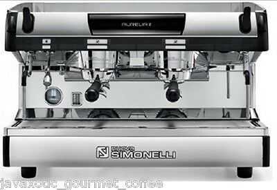 Simonelli Aurelia Semi Automatic 2 Group Espresso Machine Plus Free Installation