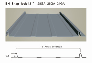 metal roofing/cladding