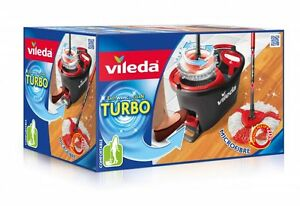 VILEDA EasyWring & Clean TURBO Komplett-Set Neuheit! ORIGINAL 99,99% Positive