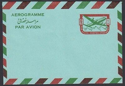 AFGHANISTAN, 1964. Letter Sheet H&G FG5, Mint