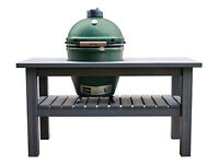 Big Green Egg Royal Mahogany TABLE Slate Grey NEW