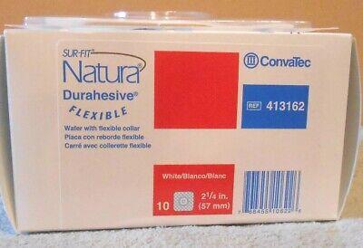 Convatec Sur-Fit Natura Durahesive Flexible Skin Barrier 57mm 413162  10/BX Natura Durahesive Flexible Skin Barrier