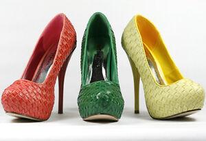 Almond-Toe-Hidden-Platform-Stiletto-Pump-Styluxe-Fighter-Green-Coral-Yellow