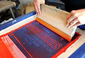 Complete Silk Screen printing operation (Moncton)