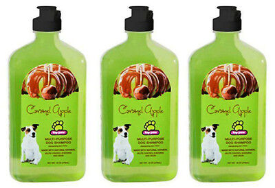 Caramel Apple Topping - Top Paw Caramel Apple Multi-Purpose Dog Shampoo 16 oz/each (3 pack)