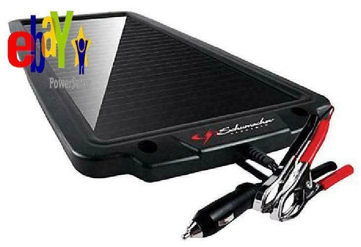 Schumacher SP-200 2.4W 12V Solar Battery Charger & Maintaine