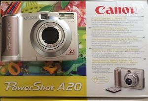 Caméra numérique Canon PowerShot A20