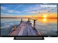 "TOSHIBA (48U7653) 48"" 4K UHD SMART LED TV"