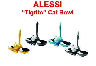 - ALESSI Tigrito Cat Bowl Various Colours FREE DELIVERY