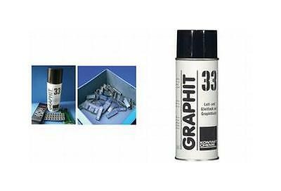 KONTAKT CHEMIE Graphit 33 - Grafitlack, Spray 200ml