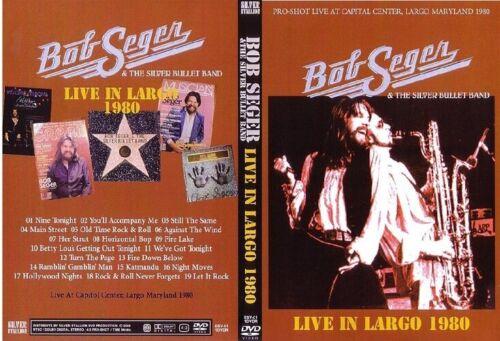Bob Seger Live 1980 DVD doobie brothers billy joel glenn frey eagles little feat