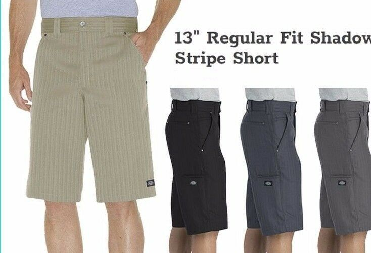 """Dickies 41283 Mens 15/"""" Multi-Use Pocket Work Shorts Various Colors /& Sizes"""
