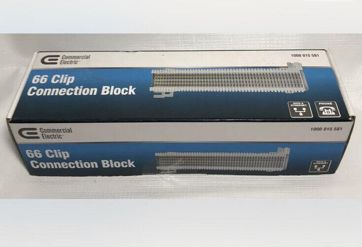 Commercial Electric 66-Clip Connection Block.