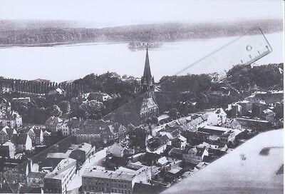Foto NEUSTETTIN Szczecinek Pommern - Pressefoto - Aufnahme 1930er - Luftaufnahme