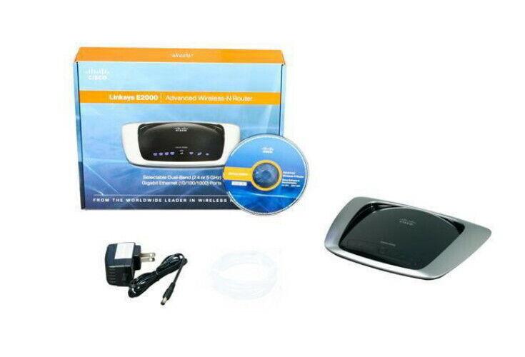 Cisco-Linksys E2000 Advanced Wireless-N Router - $30.00