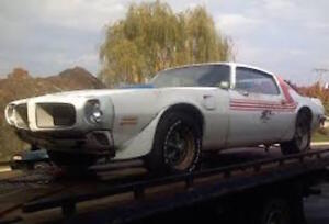 Wanted: Wanted early to mid 70's Trans Am