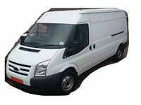 LWB Transit Van for all your needs. Removals & Deliveries. 24/7