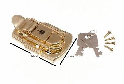 chiusura a leva per bauli SERRATURA CASSAPANCHE & 2 CHIAVI 72mm 45mm EB 200
