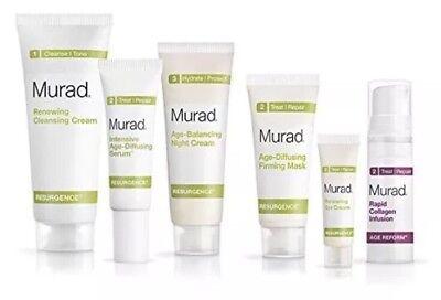 Murad Resurgence 30   Day Kit   Renewing Cleansing Cream  Anti Aging  Moisture