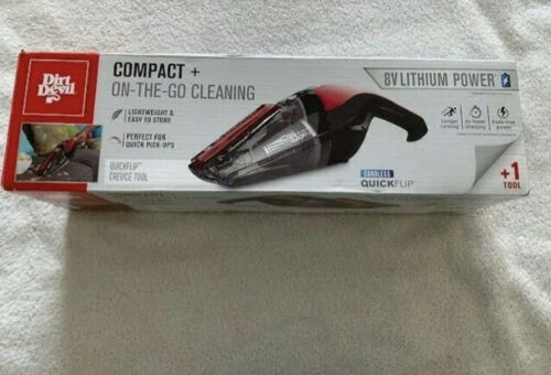 Dirt Devil Cordless Quick Flip Handheld Vacuum Cleaner 8V Li