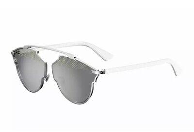 Christian Dior SO REAL Stud S 85L/DC White Grey Silver Mirror Women (White Christian Dior Sunglasses)