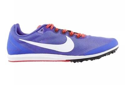 be784bceeb56 Womens Sz 8.5 Nike Zoom Rival D Track Spikes Distance Running Purple  907567-500