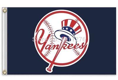 New York Yankees 3x5 Ft Flag Baseball New In Packaging](Yankee Flag)