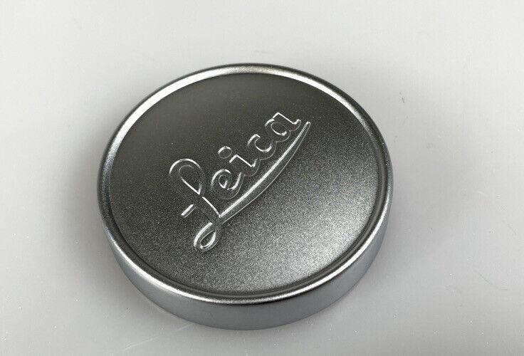 Leica Genuine A42 Chrome Push-On Lens Cap E39 Lenses 35mm 50mm Summicron Brass