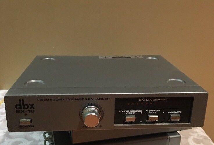 dbx SX-10 Video Sound Dynamics Enhancer ** USED **
