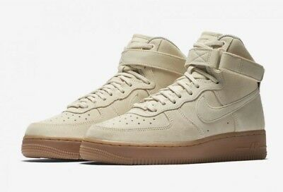 NEW Nike Women's Air Force 1 AF1 Hi SE Khaki Brown 860544-100 Sz 6.5