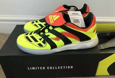 Adidas Predator Accelerator TR Ultra Boost UK 8.5- Yellow/Solar Red *NEW*