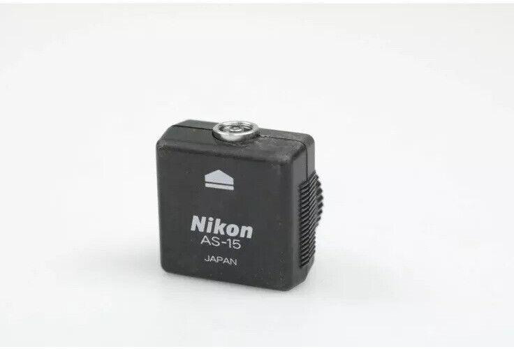 Nikon AS-15 Hot Shoe to PC Terminal Adapter