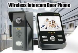 Weekly Promotion ! KIVOS  KDB303 WIRELESS VIDEO DOOR PHONE, $179(was$209)