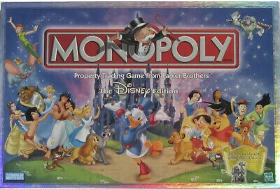 New Monopoly Disney Edition - Property Trading Game from Parker Brothers (Monopoly Property Trading Game From Parker Brothers)