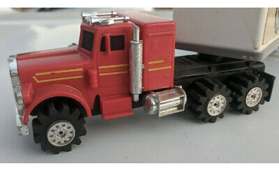 RUNNING Vintage Schaper Stomper Semi & Trailer Truck Lights And Rear Wheels Work