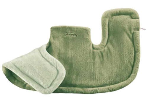Sunbeam Renue Heat Therapy Neck and Shoulder Wrap, Green Hea