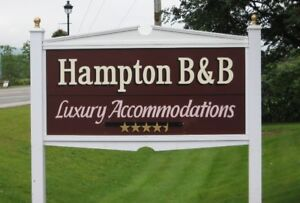 BED & BREAKFAST -  HAMPTON NB - 4-1/2 STAR
