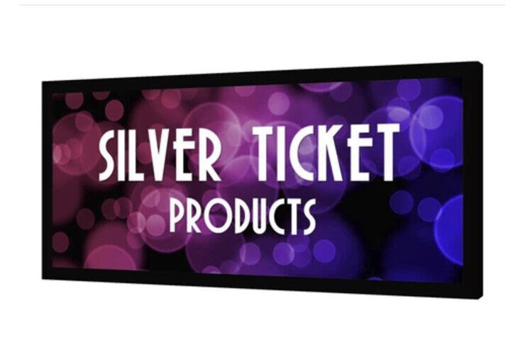 """STR-235125-HC Silver Ticket 127"""" Fixed Frame 16:9 Projector Screen High Contrast"""