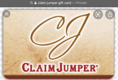 $230 Claim Jumper/ Landry's  Gift Card