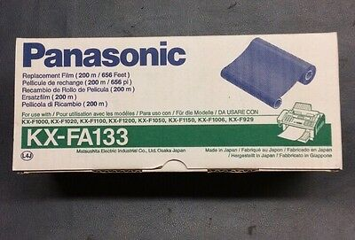 Genuine Panasonic Kx-fa133 Fax Thermal Transfer Ribbon Black Oem