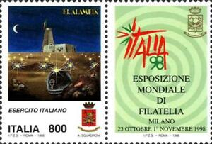 ITALIA-ITALY-1998-EL-ALAMEIN-Esercito-Soldier-Military-Stamp-MNH