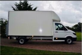Man with van house removal commercial moving sofa furniture delivery,rubbish junk collection urgent