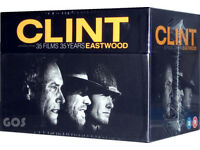 Brand New Sealed - Clint Eastwood - 35 Films 35 Years [DVD] [1968] 35DVD Box - £30. No Offers