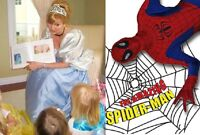 Superhero Show & Princess Shows 416-931-5437