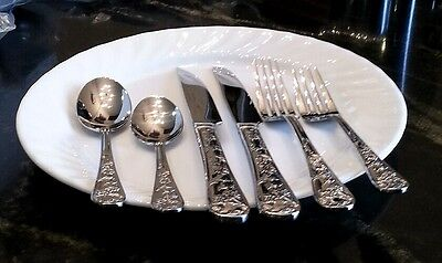 18 10 Or 18 0 Stainless Steel Flatware Silverware Ebay