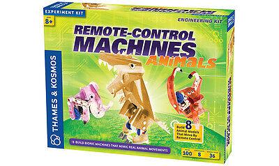 Thames & Kosmos Build Remote Control Machine Animals Engineering Experiment Kit