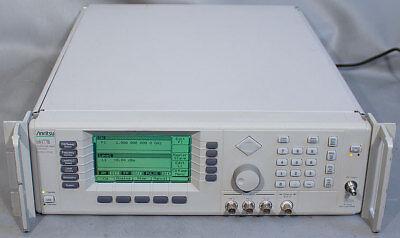 Anritsu 68377b Synthesized Sweepsignal Generator 10 Mhz-50 Ghz Opts 2c1116
