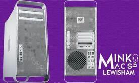 APPLE MAC PRO 2.8GHz EIGHT CORE 8GB RAM 500GB HDD FINAL CUT PRO X VECTOWORKS AUTOCAD FINAL DRAFT 10