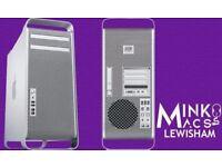 QUAD CORE 2.8GHZ APPLE MAC PRO TOWER DESKTOP COMPUTER 4GB RAM 500GB HDD - WARRANTY - MINKOS MACS